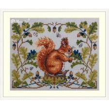 Borduurpakket Eekhoorn - Squirrel