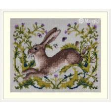 Borduurpakket De Haas- The Hare
