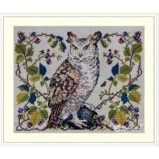 Borduurpakket De Uil -The Owl