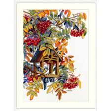 Cross stitch kit Colorful Rowan - Merejka
