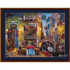 Cross stitch kit Our Special Place in Venice