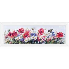 Cross stitch kit Field Beauties - Merejka