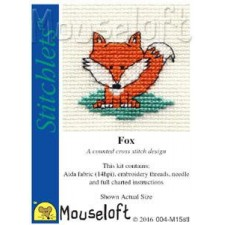 Borduurpakket Vos - Fox