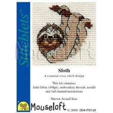 Borduurpakket Luiaard - Sloth
