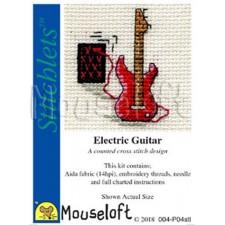 Borduurpakket Elektrische gitaar - Electric Guitar