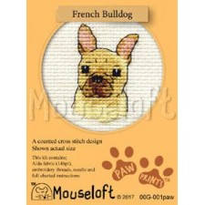 Borduurpakket Franse bulldog - French Bulldog