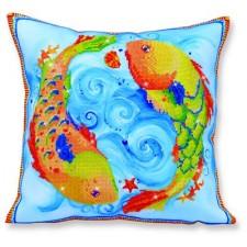 Diamond Dotz Kussen Vissen - Pillow