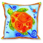 Diamond Dotz Kussen Schildpad - Pillow