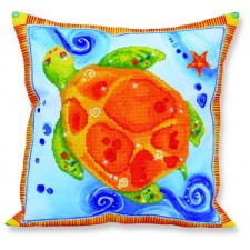 Diamond Dotz Kussen Schildpad - Pillow