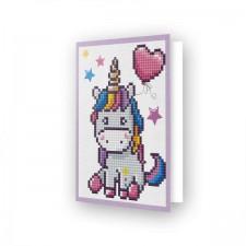 Diamond Dotz Greeting Card Welcome Baby