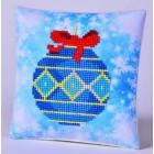 Diamond Dotz Kussen Blue Bauble Pillow
