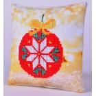 Diamond Dotz Kussen Red Bauble Pillow