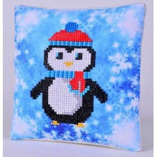 Diamond Dotz Kussen Christmas Penguin Pillow