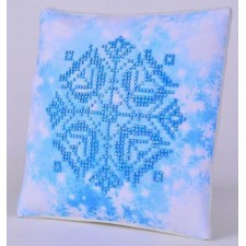 Diamond Dotz Kussen Snowflake Pillow