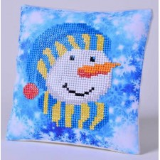 Diamond Dotz Kussen Snowman Cap Pillow
