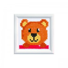 Diamond Dotz Mr Handsome DD Kit with Frame - Needleart World