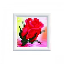 Diamond Dotz Bliss Bud DD Kit with Frame - Needleart World