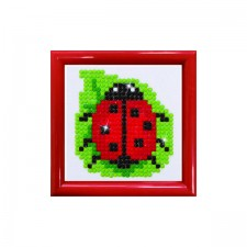 Diamond Dotz Lady Luck DD Kit with Frame - Needleart World