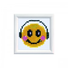 Diamond Dotz Smiling Groove DD Kit with Frame - Needleart World