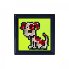 Diamond Dotz Fido DD Kit with Frame - Needleart World