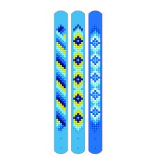 Diamond Dotz Dotzies 3 Bracelets Multi Pack - Blues - Needleart World