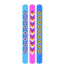 Diamond Dotz Dotzies 3 Bracelets Multi Pack - Daisies - Needleart World