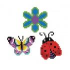 Diamond Dotz Dotzies 3 Stickers Multi Pack - Garden