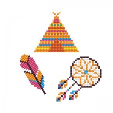 Diamond Dotz Dotzies 3 Stickers Multi Pack - Dream - Needleart World