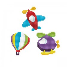 Diamond Dotz Dotzies 3 Stickers Multi Pack - Fly - Needleart World