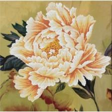 Voorbedrukt borduurpakket Blooming Peony2