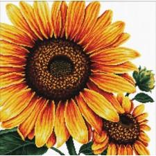 Voorbedrukt borduurpakket Sunflower