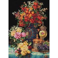 Voorbedrukt borduurpakket Classic Flowers