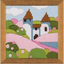 Platsteekpakket Roze tuin - Pink Garden