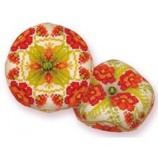 Borduurpakket Biscournu Poppies