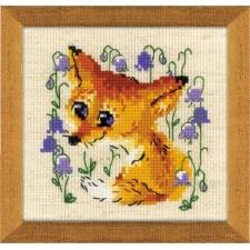 Borduurpakket Vosje - Little Fox