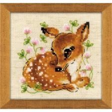 Borduurpakket Hertje - Little Deer