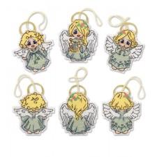 Borduurpakket Decoratieve engeltjes - Decoration Little Angels