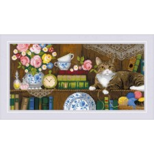 Cross stitch kit Home Comfort