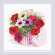 Cross stitch kit Merci