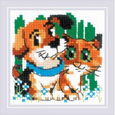 Cross stitch kit Stick with Me