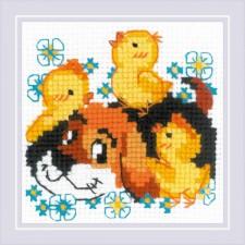Cross stitch kit Best Friend - RIOLIS