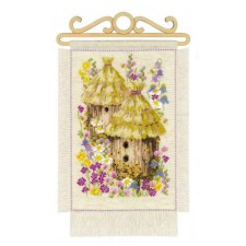 Cross stitch kit Cottage Garden - Summer
