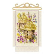 Cross stitch kit Cottage Garden - Summer - RIOLIS