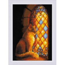Cross stitch kit Castle Guardian