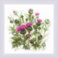 Cross stitch kit Thistle