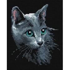 Diamond Mosaic Poes - Russian Blue