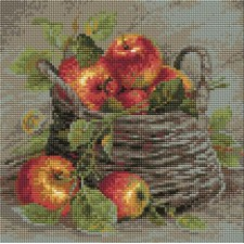 Diamond Mosaic Ripe Apples