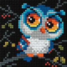 Diamond Mosaic Uil - Owl