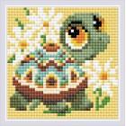 Diamond Mosaic Turtle