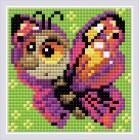 Diamond Mosaic Butterfly